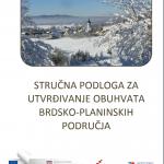 Dokument Stručna podloga za utvrđivanje obuhvata brdsko-planinskih područja